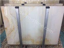 White Onyx Stone Slabs&Tiles Flooring/Wall Covering/Background/Jumbo