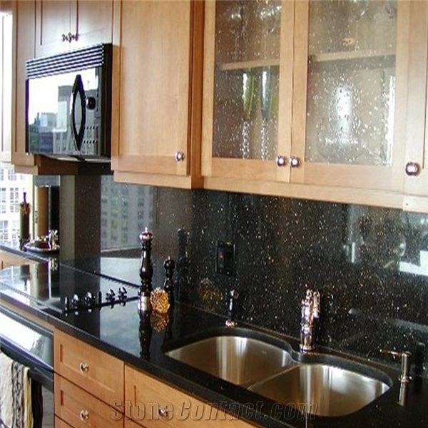 Factory Competitive Price Balack Galaxy Granite Kitchen ...
