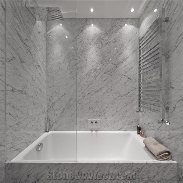 white carrara bathroom italy carrara white marble bathroom tile 15125