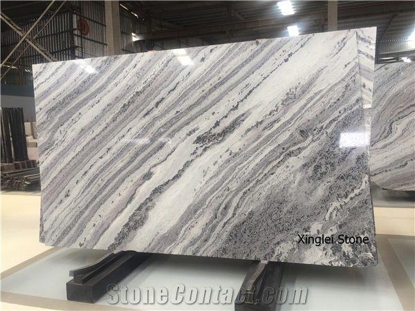 Mercury Grey Nature Quartzite Hign End White Quartzite For