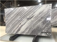 Mercury Grey Nature Quartzite,Hign-End White Quartzite for Wall