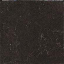 Midnight Mist Grey Quartz Big Slabs, Grey Quartz for Countertops/Island Tops/Bar Tops/Table Tops/Bath Vanity Top,Chinese Artificial Grey Quartz