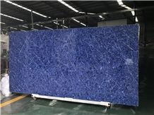 Mist Blue Quartz Big Slabs,Blue Quartz for Kitchen Countertops/Bathroom Vanity Tops,Chinese 2cm/3cm Big Slabs Blue Quartz/Tiles