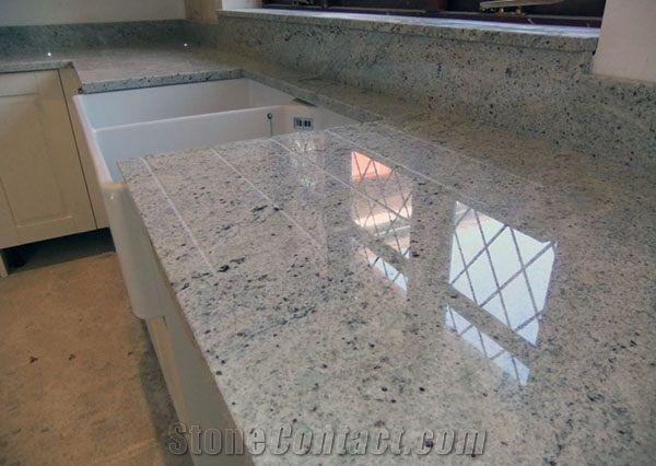 New Kashmir White Kitchen Countertops