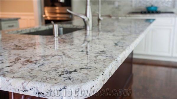 Superbe Snow White Granite Countertops, Brazil Snowflake, Brazil White Granite  Vanity Tops, Island U0026 Bar Tops