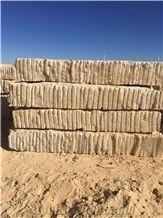 Yellow California, Jaune Boujaad Yellow Limestone Block