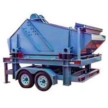 Mobile Dewatering Screen