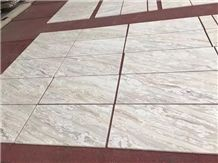 Ionia White Marble Wall Tiles Standard Size Polished Top