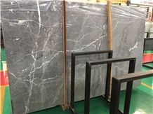 Hermes Grey Marble,Grey Marble,Polished Marble Slab