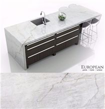 Lumix Quartzite Kitchen Island Countertop Design