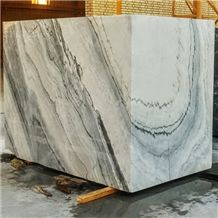 White Fusion Marble Blocks