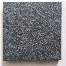 China Green Basalt Tiles,Flamed Pattern Slab,Surface Customized