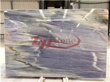 Wonderland Blue Quartzite Slabs for Wall Covering ,Wall Tiles
