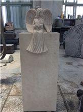Beautifully Carved Stone Tombstone Headstone Gravestone
