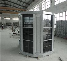 China Black Granite Cemetery Columbarium Designs