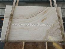 White Onyx/Natural Stone Polished Slabs&Tile