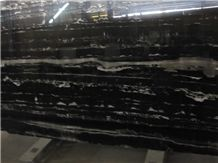 Nero Platinum Marble Slab,Silver Dragon Marble Slabs