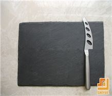 Xingzi Black Slate Panel Manufacture Wholesale Price Square Slate Cheese Board,Plate for Pestles,Tea Sets,Kitchen Hood,Handle,Cabunet Knobs Stone