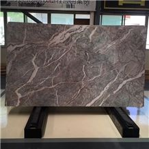 Italian Etruscan Grey Marble Marble,Italy Fior Di Pesco Carnico Marble Slab,Pesco Grigio Grey Gray Marble Slab for Hotel Interior Wall Covering Tiles