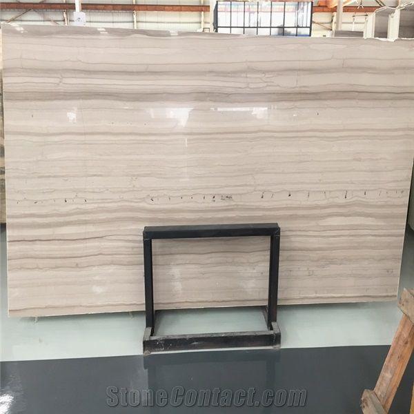 Light Wood Vein Marble Tile China Serpeggiante Athens Gray Slab Grey Wooden Grain Athen