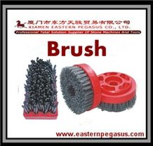 Enhanced Type Frankfurt Abrasive Brushes, Stone Polishing Brush