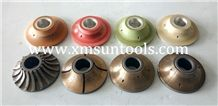 Cnc Profile Wheel/Cnc Diamond Tools/Cnc Tools Full Bullnose