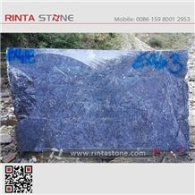 Alps Blue Granite Block Natural Dark Deep Blue Stone
