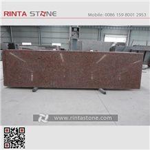 Maple Red Granite G562 China Cheap Stone Fe Ye Hong Capao Bonito Slab