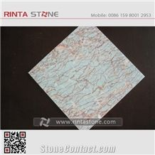 Red Vein Beige Marble Agate Red Antique Pink Stone Tile Slab Pattern