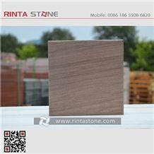 Vietnam Brown Sandstone China Natural Peachwood Stone Tile Pattern