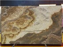 Beautiful Grigio Nuvolato Onyx;Natural Stone;Decorate Wall