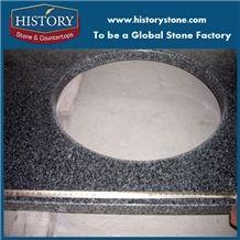 Black Granite Bathroom Countertops,Custom Grey Vanity Tops