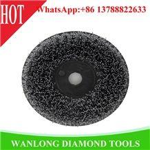 Stone Brush Round Shape Diameter 200, 250 for Granite