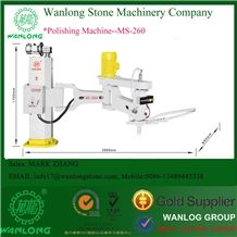 Wanlong Manual Hand Polishing Machine, Swing Arm Grinder for Marble and Granite,Model:Ms-2600