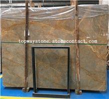 China Gold Net,Wellest Golden Emperador Marble Slab&Tile with Polished