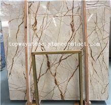 Turkey Rich Gold,Dragon Gold,Sofitel Gold Marble Slabs Floor Tile