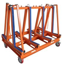 Double Sides Transport Frames Orange Powder Coated (Dismountable)