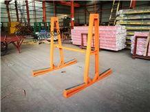 Slant Base a Frames, Storage Rack with Cross Bar