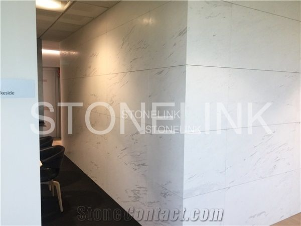 Ariston White Marble Wall Covering Tiles Apple Store Wall Tiles