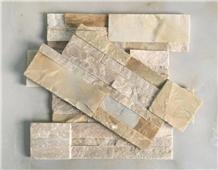 P014 Yellow Quartzite Golden Coast Culture Stone