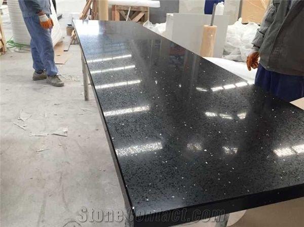 Engineered Quartz Galaxy Stone Kitchen Countertop Prices ...