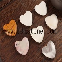 Crystal Stone Heart Decoration for Gift and Souvenir, Christmas Holiday Promotion Gifts