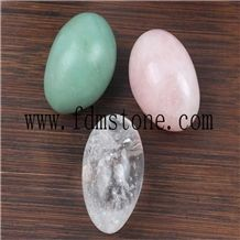 Natural Stone Egg Ball Stone Egg Holiday Gifts Wholesale Custom Trade Easter Eggs