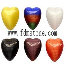 Stone Decoration Arts and Crafts ,Semi-Precious Stones Hearts