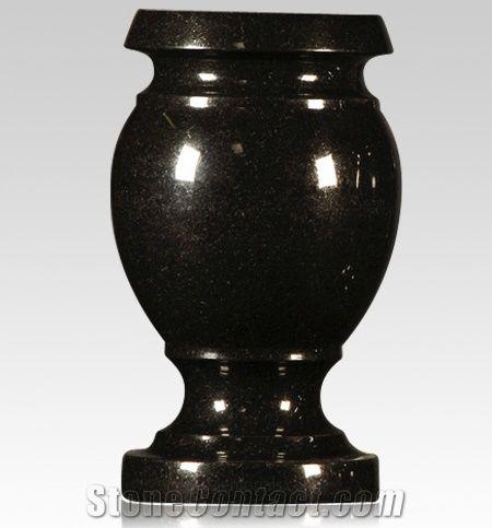 Granite Memorial Vases For Graves From China