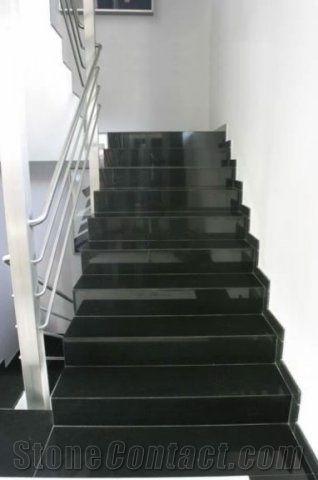 Absolute Black Granite Steps India Black Granite Risers