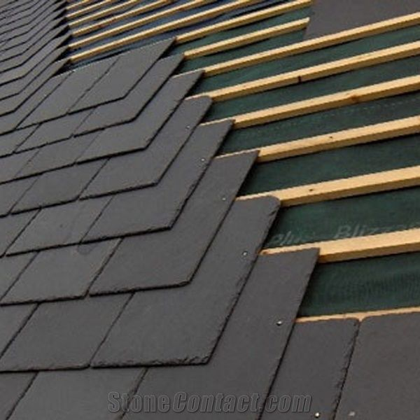 Black Slate Roof Tiles Slate Roofing Tiles Roof Covering