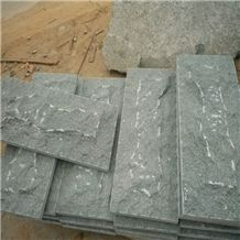G612 Granite Outer Wall Mushroom Stone Tile, G612 Green Granite Wall