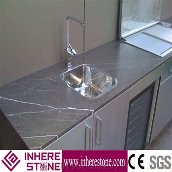 Grey Kitchen Island Tops Marble Solid Surface Kitchen Top Kitchen Desk Tops From China Stonecontact Com