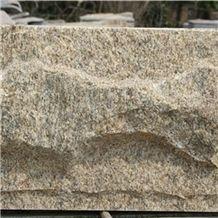 Tiger Skin Yellow Granite Mushroom Stone Wall Cladding/Granite Wall Tiles/Mushroom Stone China Tiger Skin Yellow Nature Split Surface/Buliding Stone for Wall Cladding